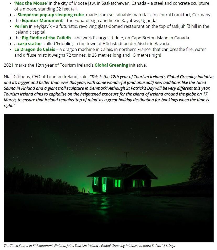 Quirkiest Greening2 2012